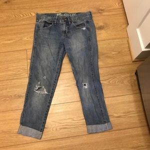 Madewell Roll Up Jeans